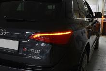 Светодиодные поворотники (плата) в задние фонари, с эффектом бегущей строки - Тюнинг Audi Q5