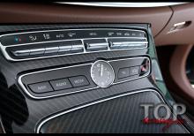 7942 Защитные пластины на консоль торпеды 3D Shield на Mercedes E-Class W213