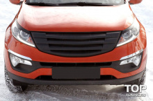 7943 Реснички GT на Kia Sportage 3 (III)