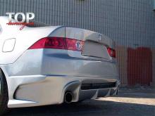 Задний тюнинг бампер - Обвес Спорт Лайн Хонда Аккорд 7 (2002-2008)