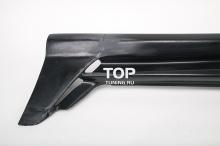 Комплект накладок на пороги - Модель Sport Line - Тюнинг Хонда Аккорд 7
