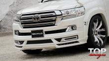 7967 Накладка на передний бампер WALD Sports Line на Toyota Land Cruiser 200
