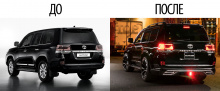 7968 Комплект расширения WALD Sports Line на Toyota Land Cruiser 200