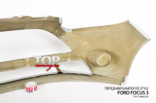 Передний бампер RS Style - Тюнинг Форд Фокус 3 (Хэтчбек, седан, универсал, дорестайлинг 2011 / 2015)