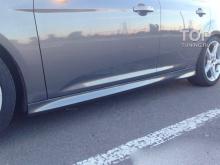 7973 Пороги ST на Ford Focus 3