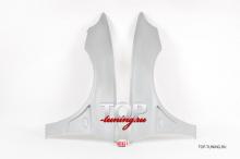 Передние крылья в стиле Эво - Тюнинг Митсубиси Галант 8 (Универсал, седан) Крылья подходят только на Европейцев и Японцев. Не подходят на Американцев.