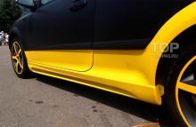 8005 Тюнинг - Пороги Rieger на Opel Astra H GTC
