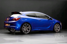 8011 Комплект порогов OPC на Opel Astra J GTC