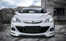8013 Юбка на передний бампер JMS на Opel Astra J GTC  Транслит: yubka_na_peredniy_bamper_jms_opel_astra_j_gtc