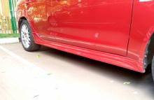 8022 Аэродинамический обвес ZODIAK Рестайлинг на Mitsubishi Lancer 10 (X)