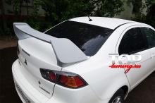 8023 Спойлер на крышку багажника EVO на Mitsubishi Lancer 10 (X)