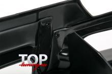 8039 Накладка на передний бампер Roar (рестайлинг) на Mitsubishi Pajero