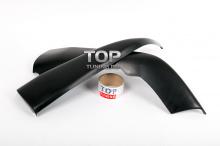 Задние брызговики - Аэродинамический обвес ЛХ Мод 2 (комплект) Тюнинг Лексус РХ (3 поколение / 2009-2012).