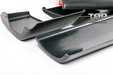 Молдинги дверей - Аэродинамический обвес ЛХ Мод 2 (комплект) Тюнинг Лексус РХ (3 поколение / 2009-2012).