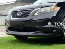 Накладка на передний бампер - темный авто - 8042 Обвес LX Mode II на Lexus RX 3