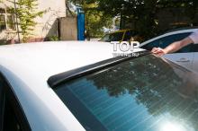 805 Козырек на заднее стекло Rieger на Audi A4 B8