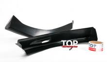 8050 Накладки на передний бампер Sport на Mazda 3 BK