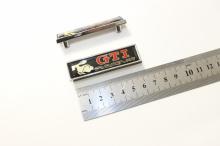 Декоративные эмблемы - шильды с креплениями GTI Racing (2 шт) Размер 60 х 14