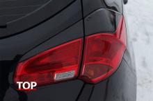 8064 Реснички на задние фонари GT на Kia Ceed 2