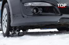 Клыки переднего бампер Спорт Лайн- Тюнинг Kia Ceed (2 поколение, рестайлинг).