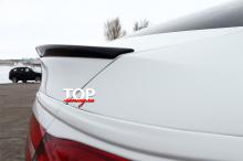 8068 Спойлер на крышку багажника на Mercedes GLC C253