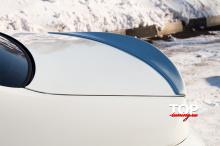 8069 Лип-спойлер Mini на Kia Rio 3
