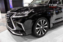 8092 Накладка на передний бампер Double Eight Half Type на Lexus LX570 UJR 200