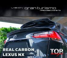 КАРБОНОВЫЙ СПОЙЛЕР - VISION GRAN TURISMO - ТЮНИНГ LEXUS NX (3 ВИДА)