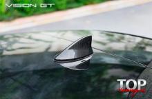 8104 Карбоновый плавник на крышу Vision GT на Lexus