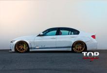 8108 Спойлер на крышку багажника Clinched на BMW 3 F30