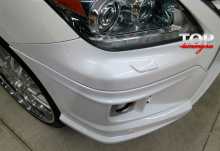 8127 Накладка на передний бампер Double Eight на Lexus LX570 UJR 200