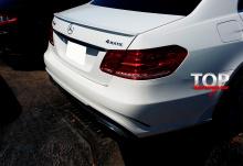 8133 Лип-спойлер AMG Style на Mercedes E-Class W212