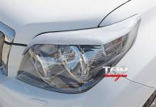 8181 Реснички на фары JAOS ABS на Toyota Land Cruiser Prado 150