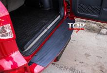 8188 Защитная накладка на бампер на Toyota RAV4 3