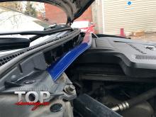 8191 Распорка передних стоек TCR-II на Mazda CX-7