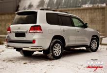 8194 Реснички на задние фонари TRD на Toyota Land Cruiser 200