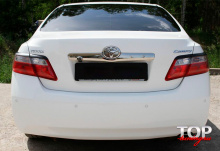 8196 Реснички на задние фонари Sport на Toyota Camry V40 (6)