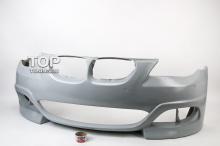 82 Передний бампер - Обвес Rieger на BMW 5 E60, E61, M5