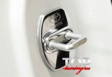 8203 Заглушки на скобу двери на Toyota Land Cruiser Prado 150