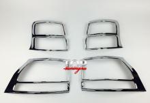 8205 Реснички на задние фонари Guardian на Toyota Land Cruiser Prado 150
