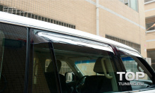 8208 Дефлекторы на окна на Nissan Patrol Y62