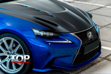 8225 Реснички A`PEX GT на Lexus IS 3