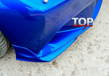 8226 Клыки на передний бампер A`PEX GT на Lexus IS 3