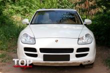 8242 Реснички GT на Porsche Cayenne 955