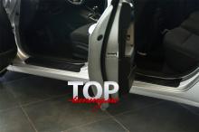 8257 Накладки на внутренние пороги дверей на Kia Cerato 3