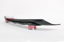 8265 Накладка на передний бампер X-Force на Kia Sportage 3 (III)