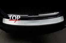 8281 Накладка на порог заднего бампера Atenza Long на Mazda 6 GJ