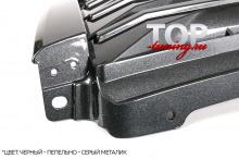 8302 Решетка радиатора без эмблемы Lexus Style на Toyota Land Cruiser Prado 150