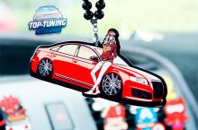 8334 Подвеска в салон Stance A4 A3 A7 на Audi