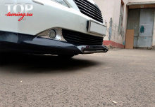 8388 Юбка на передний бампер Modellista на Toyota Camry V50 (7)